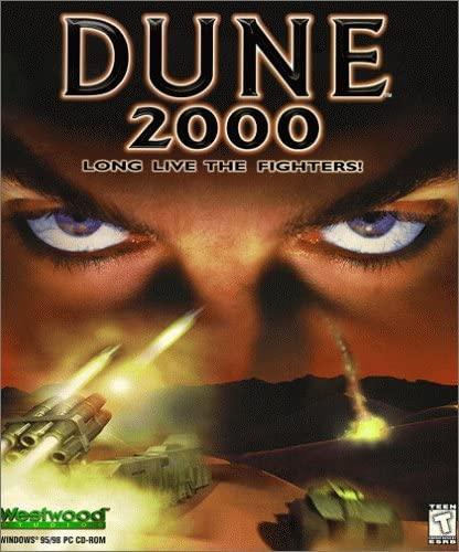 Tło gry Dune 2000 przy uruchomieniu