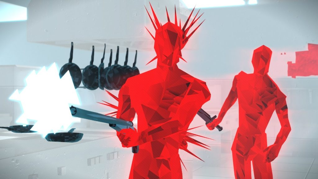 Superhot Mind Control Delete wrogowie