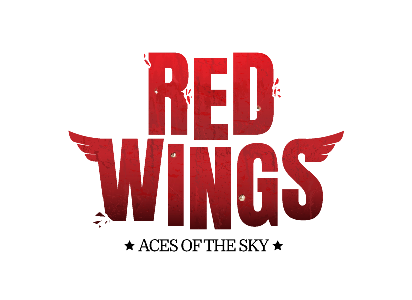 Red Wings Aces of the Sky logo