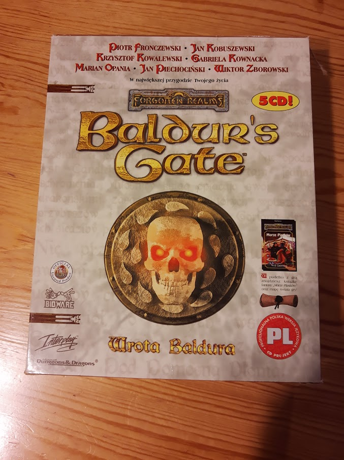 Big Box Baldur's Gate PL