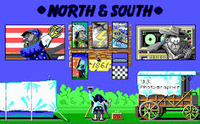 north and south game