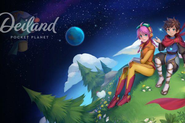Deiland main screen